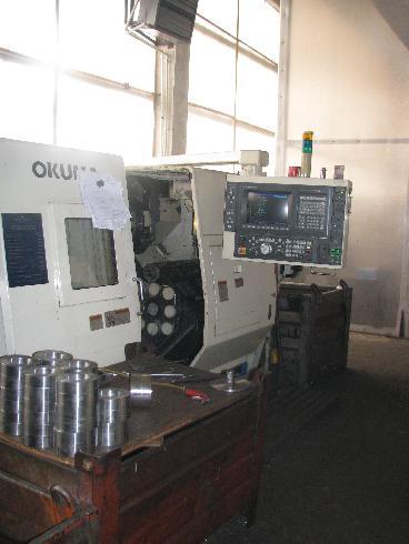 токарный станок ЧПУ OKUMA LU-15